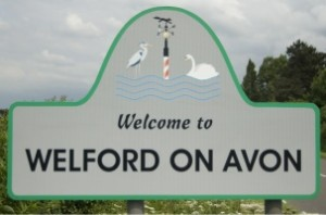 Welford Sign