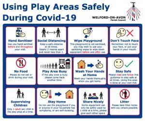 Using play areas safely during covid-19